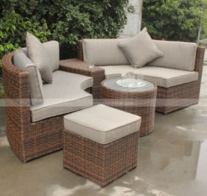 Outdoor Rattan Garden Furniture Set and Patio Furniture