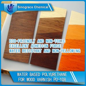 Eco-Friendly PU Dispersion for Wood Varnish pictures & photos