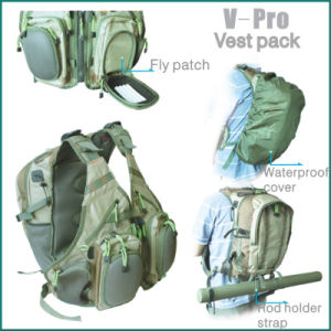 fly fishing V-pro vest back pack pictures & photos