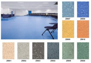 Homogeneous PVC Flooring for Hospital Use pictures & photos
