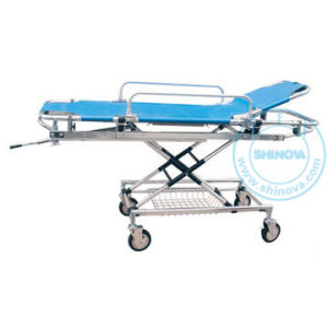 Aluminum Alloy Stretcher Trolley (SR040B) pictures & photos