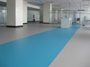 PVC Floor Tile for Hospital Using 300*300*2.0mm pictures & photos