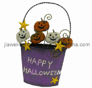 Halloween Bucket Wall Hanging
