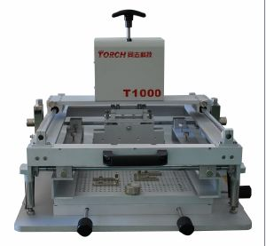 Manual Screen Printer T1000,Stencil Printer (T1000) pictures & photos
