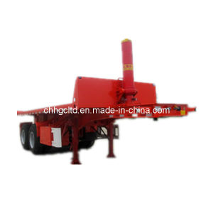 ISO CCC Approved 2 Axles Flatbed Dump Trailer