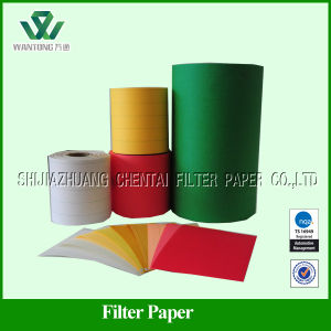 Automotive Wood Pulp Panel Air Filter Paper for Passenger Car