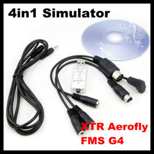 China FS-SM105 4in1 USB Flight Simulator Cable(XTR, Aerofly