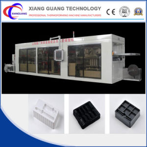 4 Station Thermoforming Machine for Sale China Manufacturer