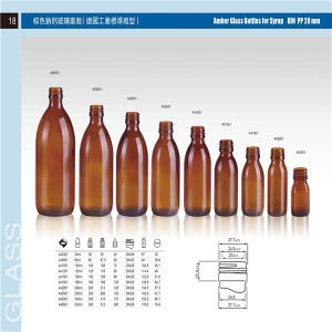 0.5 Liter Glass Bottle pictures & photos