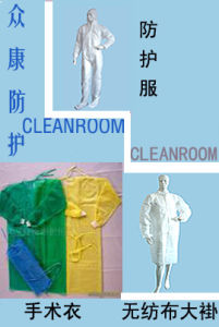 Non-Woven Coverall (ZK00) , Disposable Gown, Non-Woven Coat/Smock pictures & photos