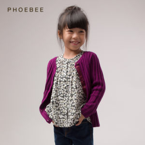 2a1d18b3c China Phoebee Wholesale Kids Clothing Girls Sweaters for Spring/Autumn - China  Girls Cardigan, Girls Cardigans