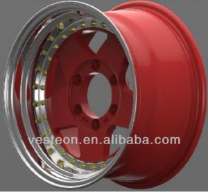 12-26 Inch Aluminum Wheel with New Design (vbk306) pictures & photos