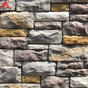 China Faux Artificial Stacked Stone Rock Exterior Natural Stone