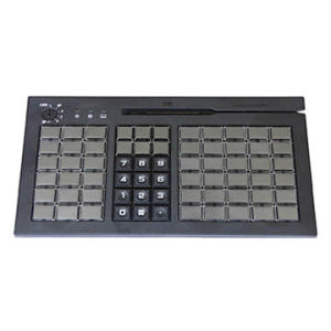 Programmable POS USB Keyboard with 3 Tracks Magnetic Stripe Card