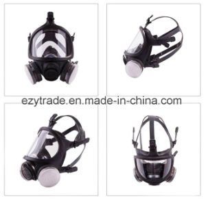 Silicone Gas Mask Full Face Facepiece Respirator Painting Spraying U