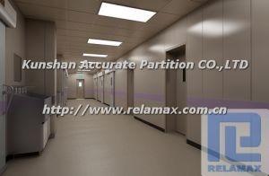 SGS Fireproof Anti-Bacteria Hospital Galvanized Steel Partition Customized Design