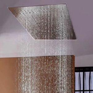 China High Flow 400 800mm Bathroom Rectangular Big Rain Shower
