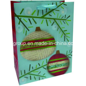 Design Professional Fashion Christmas Paper Bag pictures & photos