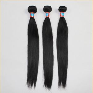 Silky Straight Virgin Indian Remy Human Hair pictures & photos