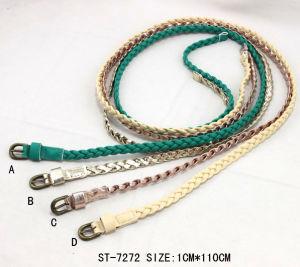 China Fashion Popular Skinny Braided Belt for Women Ca 65