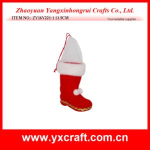 Christmas Decoration (ZY16Y222-1-2-3-4-5 3CM) Christmas Holiday Ornaments Light Box Boot pictures & photos