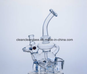 New Design Dinosaur Shaped Glass Water Pipe Smoking Pipe