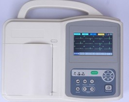 3 Lead 4.3inch ECG Machine