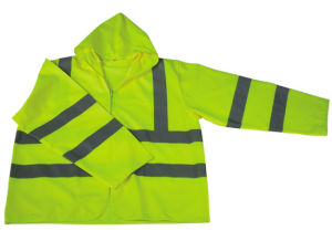High Visibility Reflective Vest with Cap and Long Sleeve (DFJ1001) pictures & photos