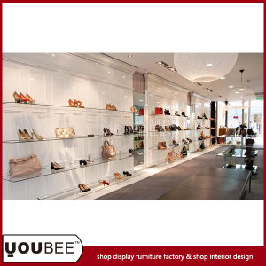 Bespoke Retail Shoes Store Interior Design For Shopping Mall