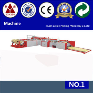 Auto Sewing and Cutting Machine and 6 Color Flexo Printing Machine for PP Woven Sack Bags