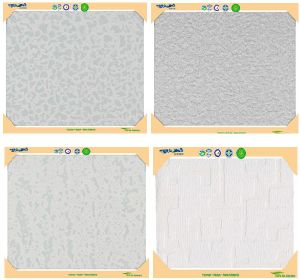 No Asbestos Relief Sculpture Calcium Silicate Ceiling Tiles
