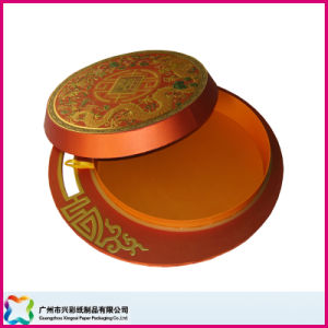 Round Food Box for Packaging Mooncake (XC-1-036) pictures & photos