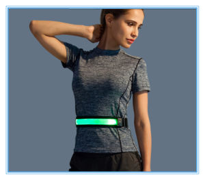 Outside Sport LED Running or Riding Flashing Waist Belt pictures & photos