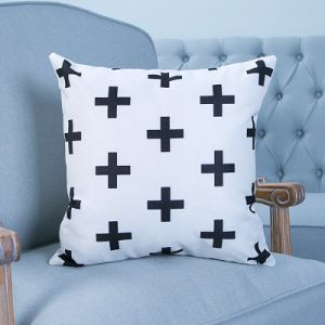 Digital Print Decorative Cushion/Pillow with Geometric Pattern (MX-38) pictures & photos