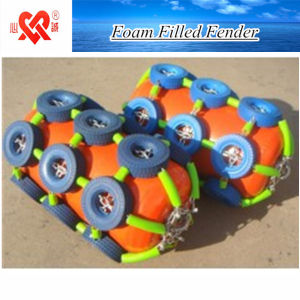 Marine Ship Dock Protection Colorful Foam Filled Fender pictures & photos