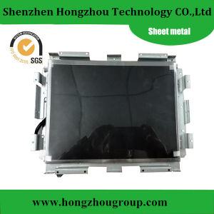 Sheet Metal Fabrication Human Machine Interface Bracket, HMI Bracket pictures & photos