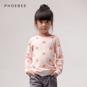 Children Clothing for Gilr Garment Star Pattern pictures & photos