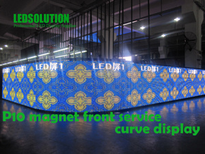 Front Service Curve LED Display pictures & photos