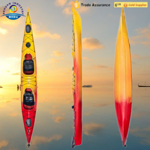 New Design Whitewater Kayak with Rudder