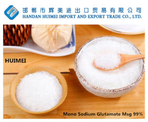 99% Purity Mono Sodium Glutamate /Msg with 30 Mesh Particle Sizes pictures & photos