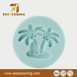 2013 Summer Hawaii Style Various Shapes--Coconut Palms Sweetie &Fondant Silicone Mould (FS-023)