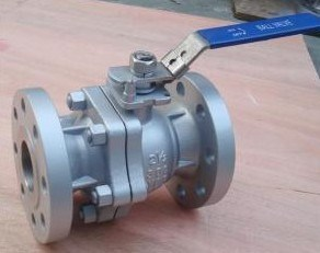 2PC ANSI Flanged Ball Valve in Ss304 150lb pictures & photos