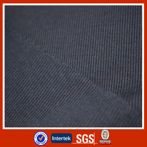 Polyester /Cotton Knit 1X1 Rib pictures & photos