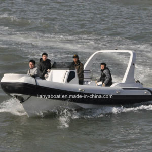 Liya 7.5m Hypalon Inflatable Tender Boat Rubber Boat for Sale pictures & photos