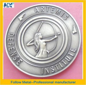 Artemis Pin with Defense Girl Logo