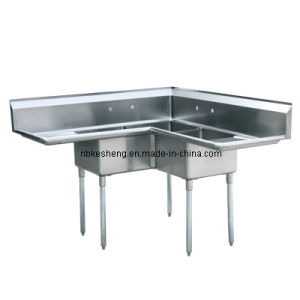 Compartment Sink/Corner Sink (KSA-3C-D1)