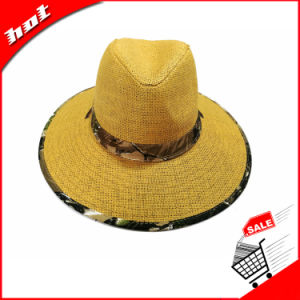 Paper Straw Hat Fedora Sun Hat pictures & photos