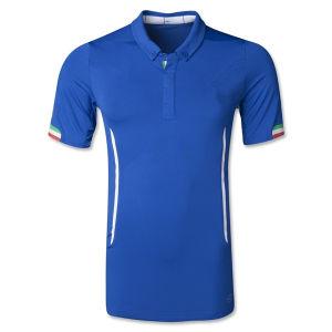 3bff533a60d Jersey Di Calcio 2014 World Cup Italy Home Blue Camisetas De Futbol Short  Sleeve Football Shirts
