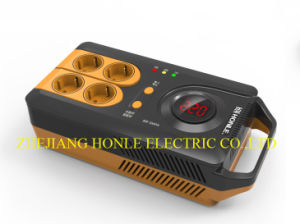 Socket Type Portable Voltage Stabilizer pictures & photos