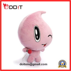Embroidery Logo Pink Water Drop Doll Stuffed Plush Toy pictures & photos